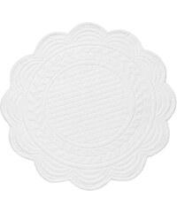 Côté Table Látkové prostírání bílé 30 cm