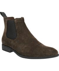 Vagabond Chelsea Boots z broušené kůže