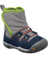 Keen Chlapecké boty Peek-A-Boot - modro-šedé