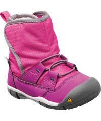 Keen Dívčí boty Peek-A-Boot - růžovo-fialové