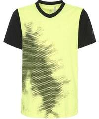 adidas Performance Tshirt imprimé solar yellow/black