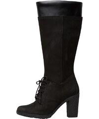 Timberland Damen Glancy Tall 14 Inch Stiefel Schwarz