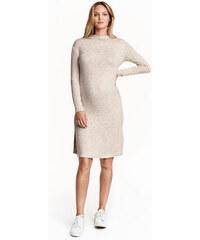 H&M MAMA Šaty z jemného úpletu