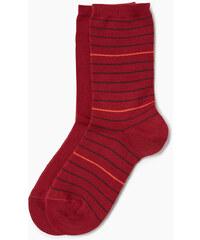 Esprit 2 paires de chaussettes, unies et rayées