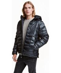 H&M Péřová bunda s kapucí