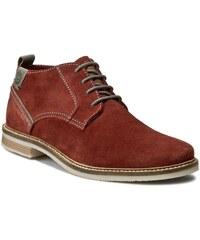 Kotníková obuv BUGATTI - F7536-PR3-303 Dark Red