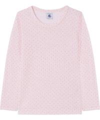 Petit Bateau Dotted wool blend T-shirt