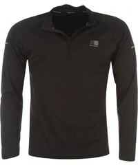 Karrimor Quarter Zip Running Top Mens, black