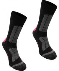 Karrimor Trekking Socks Ladies, black/fucshia