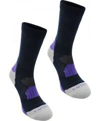 Karrimor Walking Socks 2 Pack Ladies, navy/purple