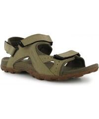 Karrimor Antibes Leather Mens Walking Sandals, beige