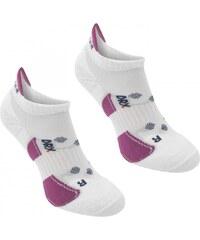 Karrimor 2 pack Running Socks Ladies, white/berry