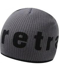 Firetrap Tip Beanie Hat Mens, charcoal/black