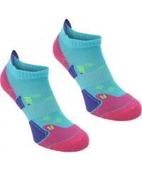 Karrimor 2 pack Running Socks Ladies, turquoise/fusch