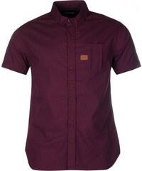 Firetrap Short Sleeve Shirt Junior Boys, grape wine