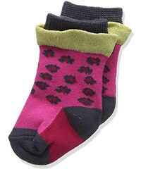 3 pommes Baby-Mädchen Socken Color Box