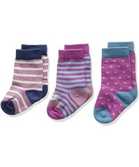 Unbekannt Baby-Mädchen 3 Pack Socks, 3er