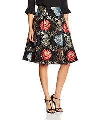 Wolf and Whistle Damen Rock Gold Tapestry Floral Midi