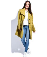 Maille Girls Dámský kabát MANTEAU CAROLE P16053 ANIS