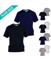 Lesara Lot de 2 t-shirts en coton D555