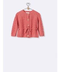Cyrillus Cardigan en laine et coton
