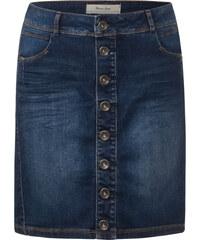 Street One Jeans Mini mit Knopfleiste - dark blue wash, Damen