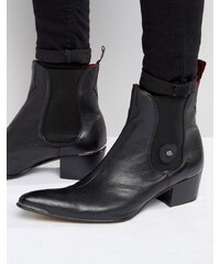 Jeffery West - Sylvian - Bottines Chelsea en cuir - Noir
