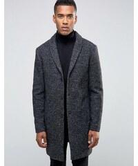 Jack & Jones - Hochwertiger Mantel aus Wollmischung - Grau