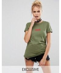 Adolescent Clothing - T-shirt d'Halloween motif Cursed - Vert