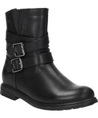 MINI B Dívčí kotníčková obuv s přezkami