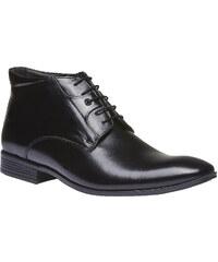 Conhpol Kožená kotníčková obuv