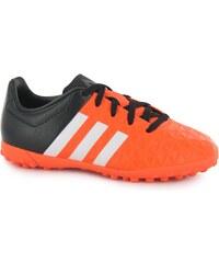 Adidas Ace 15.4 Childrens Astro Turf Trainers, solar orange