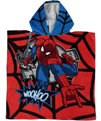 Character Towel Poncho Infant, spiderman
