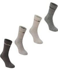 Gelert Walking Boot Sock 4 Pack, brown
