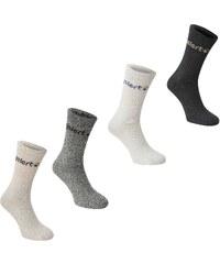 Gelert Walking Boot Sock 4 Pack, grey