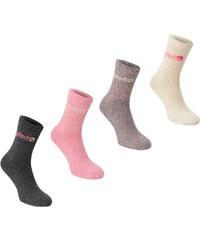 Gelert Walking Boot Sock 4 Pack, pink