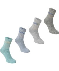 Gelert Walking Boot Sock 4 Pack, turquoise