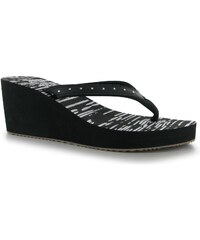 Golddigga EVA Wedge Ladies Sandals, black