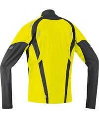 Gore Air Wind Stopper Jacket Mens, fluo yell/black