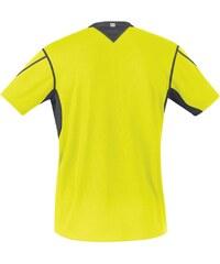 Gore Essential Running T Shirt Mens, black/fluo yell