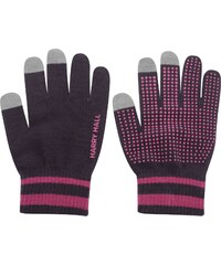Harry Hall Tech Touch Gloves, blackberry