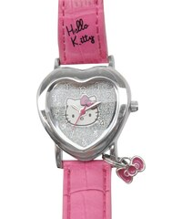 Hello Kitty Girls Analogue Watch, pink strap