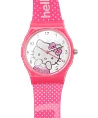 Hello Kitty Girls Analogue Watch, pink/white spot