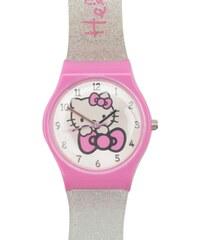 Hello Kitty Girls Analogue Watch, silver strap