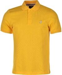Kangol Brit Fit Polo Shirt Mens, bright yellow