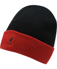 Kangol Cuff Beanie Hat, black/red