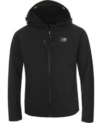 Karrimor Alpiniste Soft Shell Jacket Mens, black/yellow