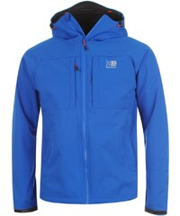 Karrimor Alpiniste Soft Shell Jacket Mens, blue/orange