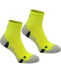 Karrimor Dri 2 pack socks Junior, fluo yellow