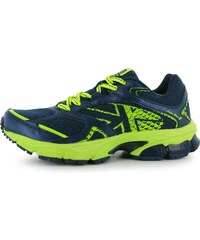 Karrimor Pace Run 2 Childrens Running Shoes, navy/lime